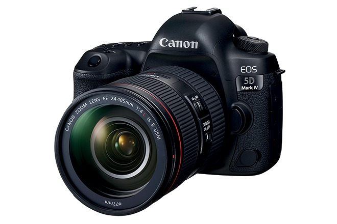 On test: Canon EOS 5D MkIV